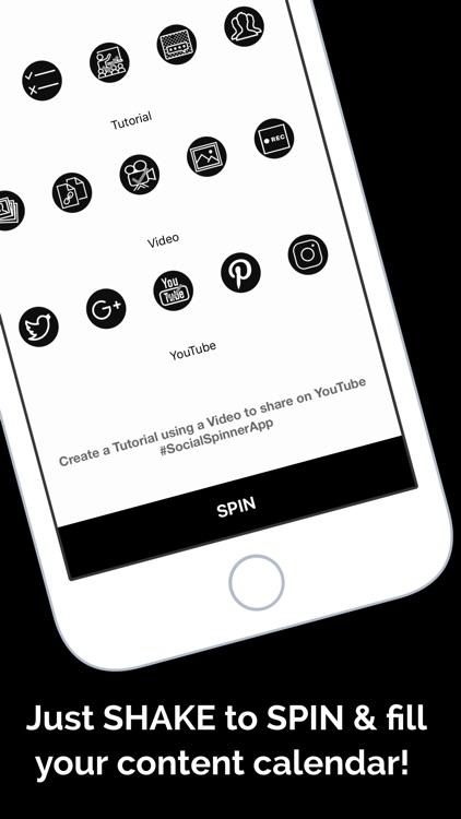 Social Spinner: Marketing screenshot-3