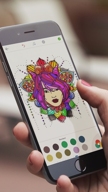 Korean Coloring Pages screenshot-0