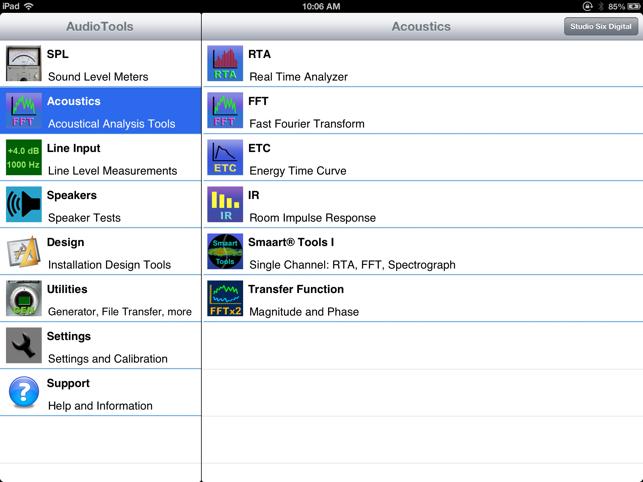 AudioTools Screenshot