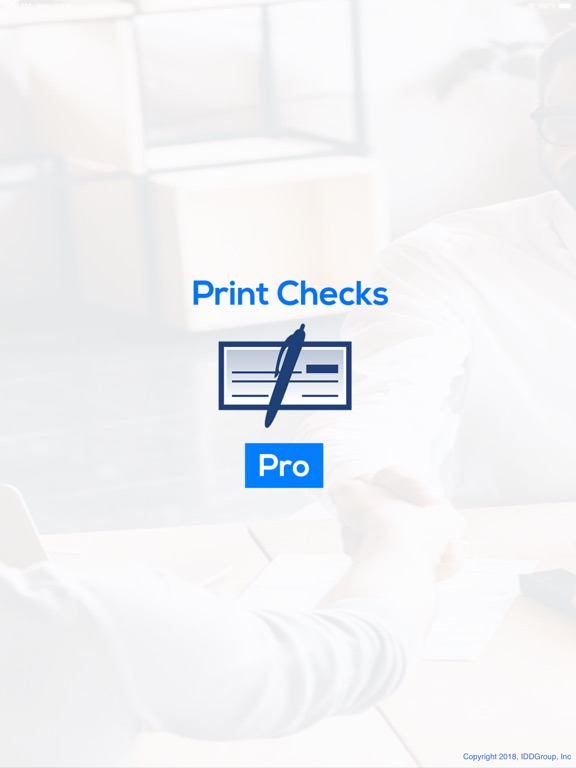 Print Checks Pro screenshot #1