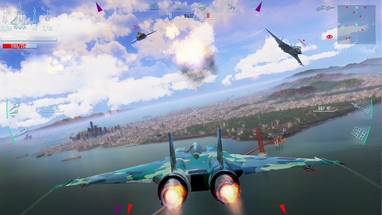 Sky Gamblers - Infinite Jets screenshot-4