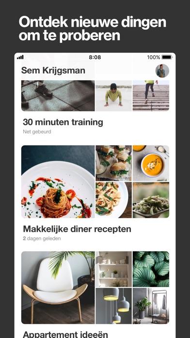 Screenshot for Pinterest in Netherlands App Store