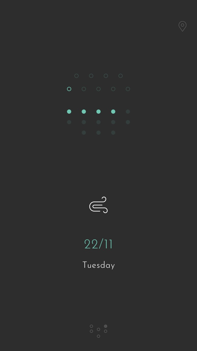 RANE° - Minimalist Weather Screenshot