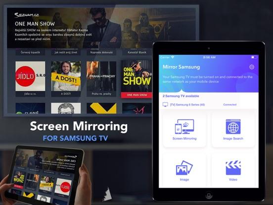 Mirror for Samsung TV Streamer Screenshots