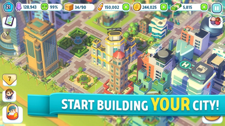 City Mania: Town Building Game screenshot-0