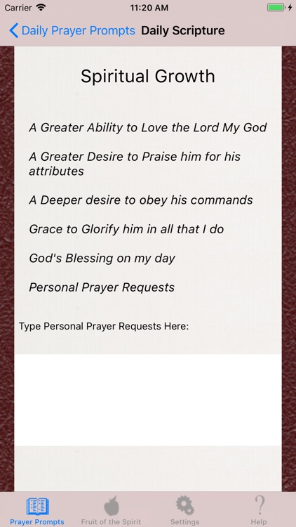 Christian Prayer Guide