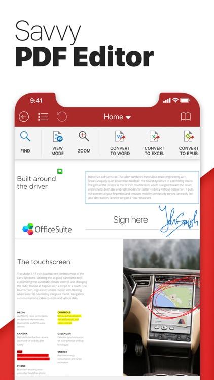 Free OfficeSuite & PDF editor screenshot-4