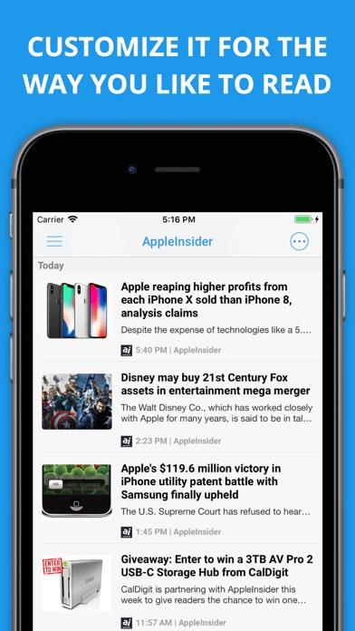 Newsify s'occupe de vos flux Google Reader sur iPhone-capture-2