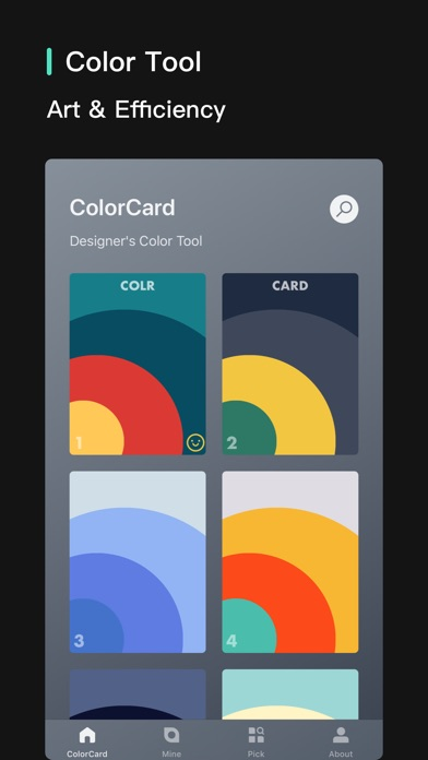 ColorCard - 100k+ Users Screenshots