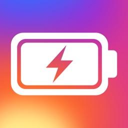 インスタバッテリー SNS利用者の為のバッテリー節電アプリ
