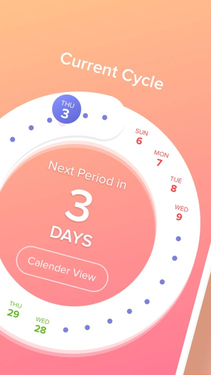 Period Tracker App - Eve screenshot-1