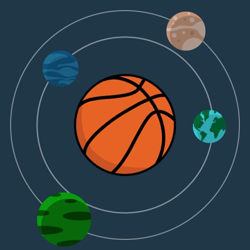 Download BBall in Space free for iPhone, iPod and iPad