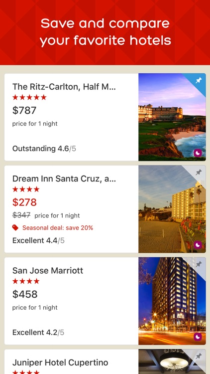 Hotels.com - Hotel booking and last minute deals