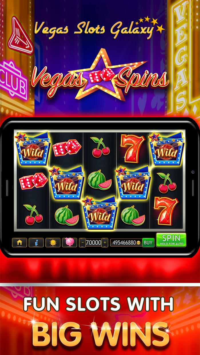 Vegas Slots Galaxy Screenshot