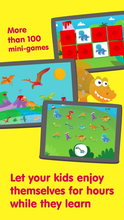 Planet Dinos – Games for Kids