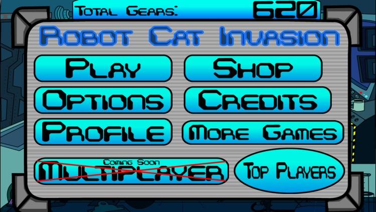 Robot Cat Invasion screenshot-3