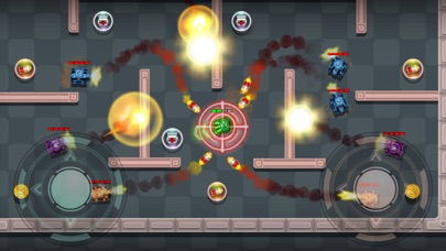 Tanks Fire Up:pocket wars hero Screenshot on iOS