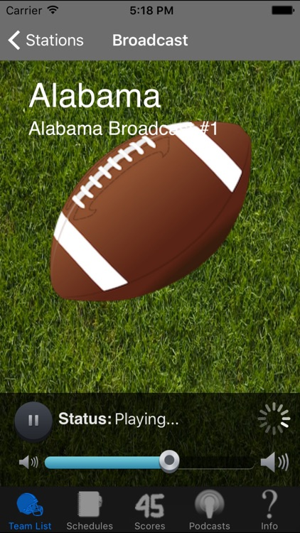 SEC Football Radio & Live Scores + Podcasts screenshot-2