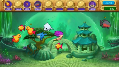 PokeAquarium - Feed Fishes! Fight Aliens! Screenshot 1