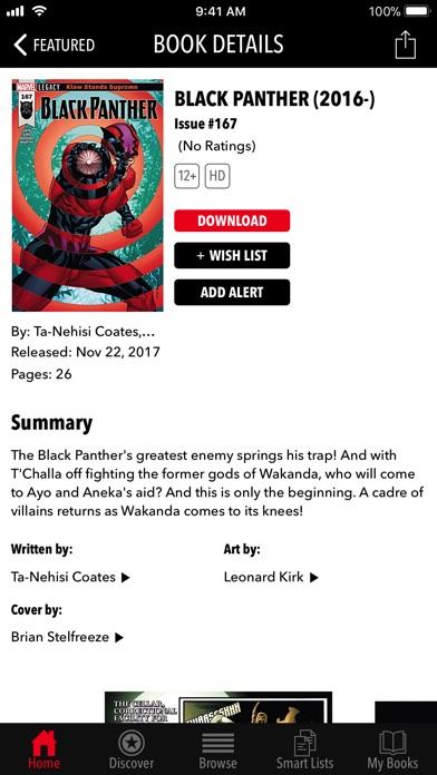 Marvel Comics iPhone