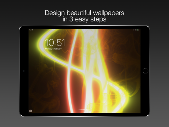 Retrofit - HD Lock Screen, Wallpapers & Backgrounds Maker screenshot