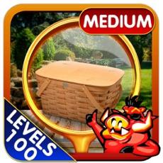Activities of Picnic Spot Hidden Object Game