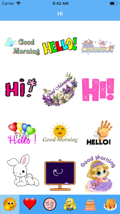Exproji - Emoji Gif Stickers screenshot-1