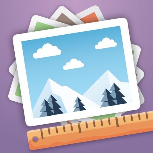 Batch Photo Resize & Shrink application logo