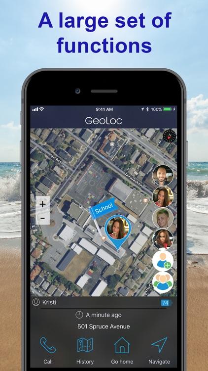 GeoLoc Family Location Tracker screenshot-3