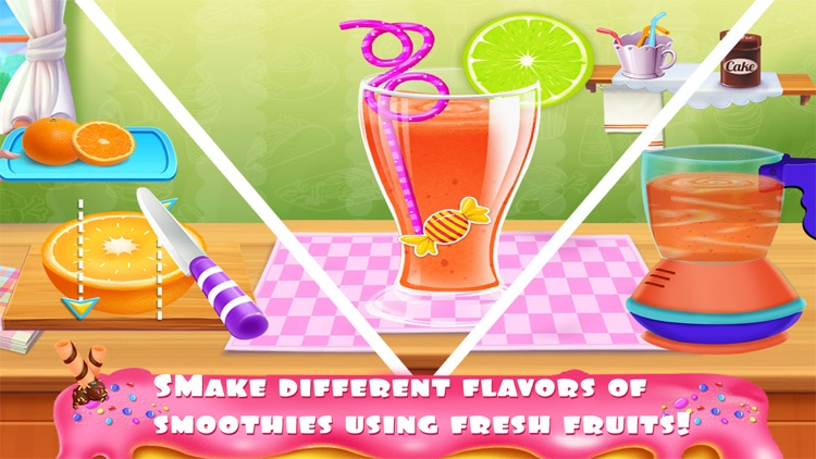 Ice Cream Popsicles Smoothies screenshot-4