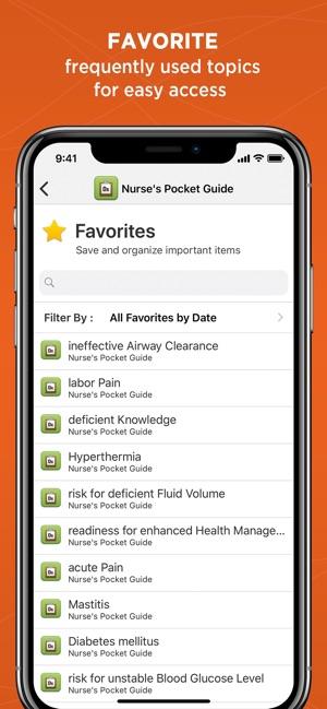 Nurses Pocket Guide Diagnosis On The App Store