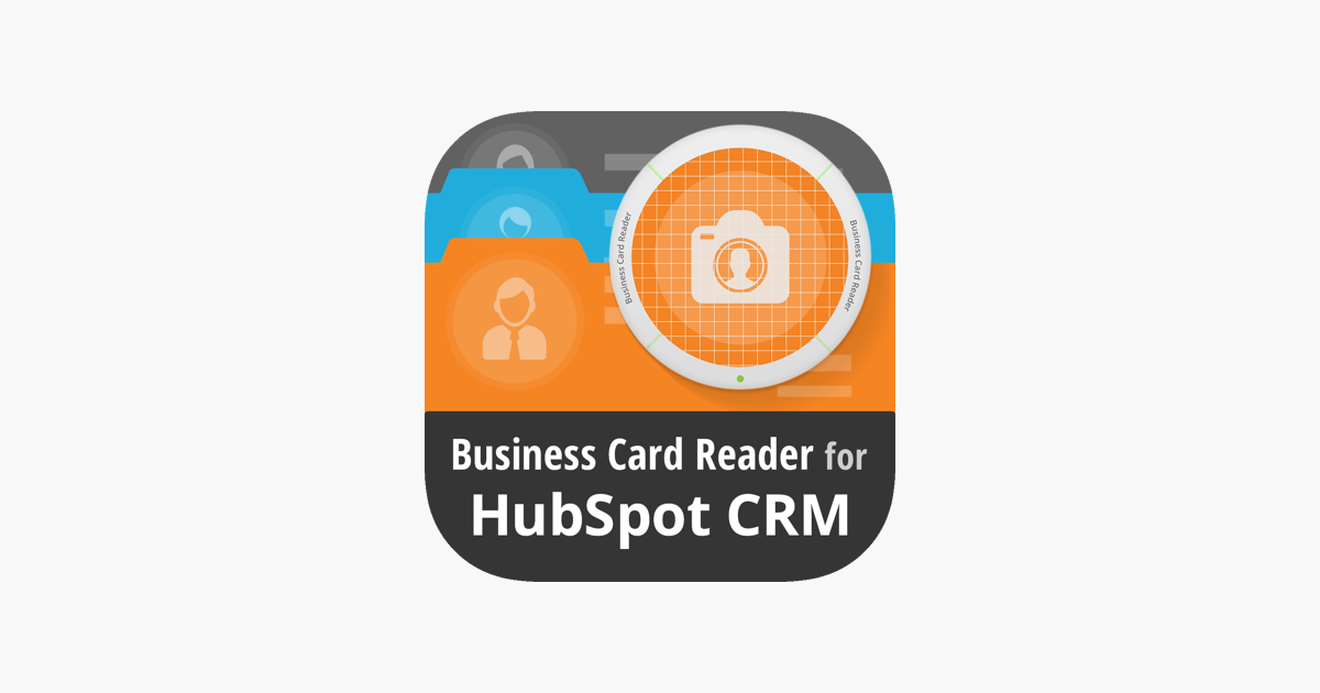 Business card reader 4 hubspot on the app store business card reader 4 hubspot on the app store reheart Images