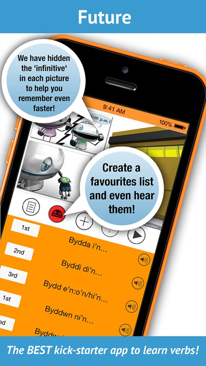 Learn Welsh Verbs - LearnBots screenshot-4