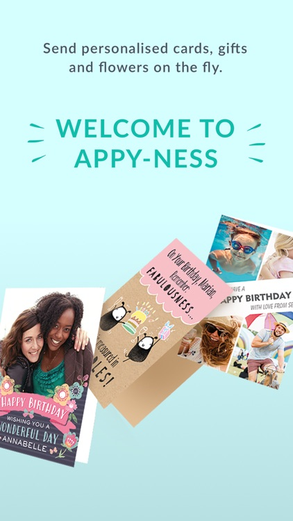 Moonpig - Send Personalised Cards, Gifts & Flowers screenshot-0