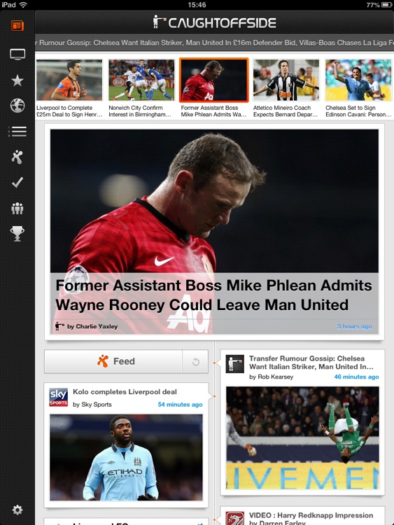 Caught Offside for iPad screenshot-1