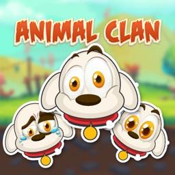 Animal Clan Dog Stickers