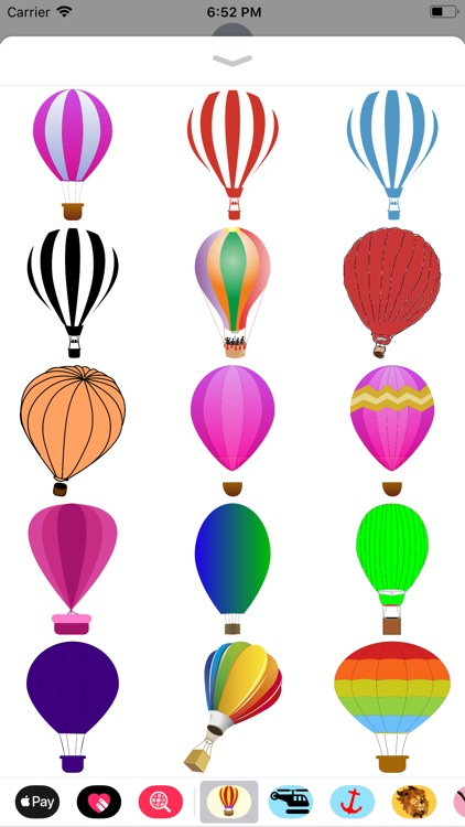 Lotsa Hot Air Balloon Stickers screenshot-1