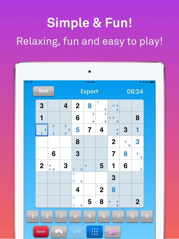 Sudoku классическая головоломк для iPad