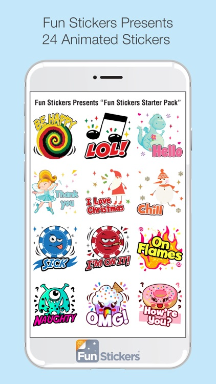 Fun Stickers Starter Pack screenshot-2