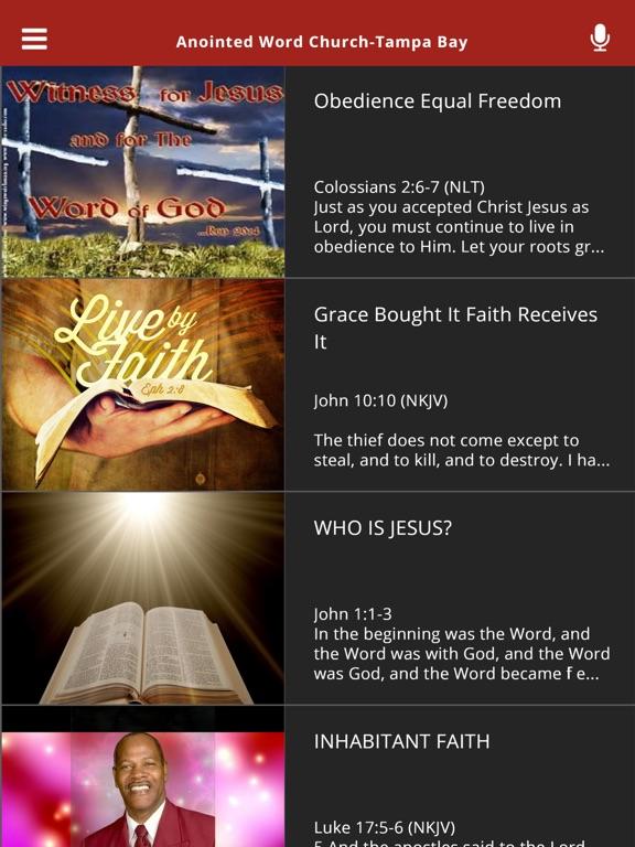 Anointed Word Church-Tampa Bay-ipad-1