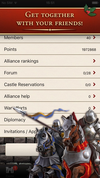 Lords & Knights - X-Mas screenshot-4