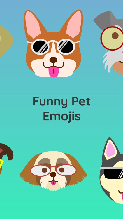 Pet Lovers Emojis Sticker Pack screenshot-1