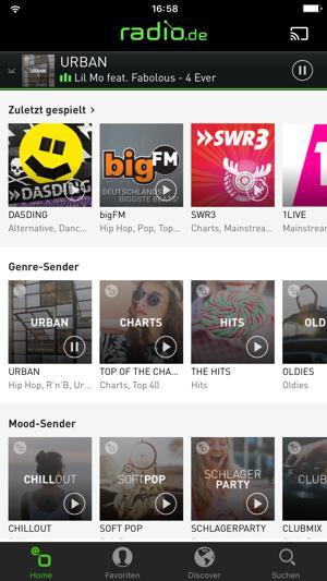 radio.de - Der Radioplayer Screenshot