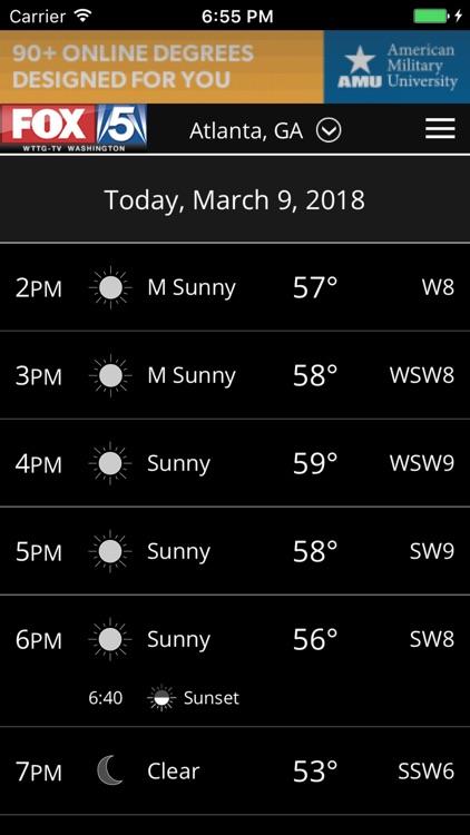 FOX 5 Weather screenshot-3