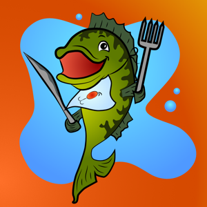 Bass Fishing Emoji Keyboard app