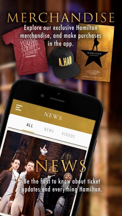 Hamilton - The Official App screenshot-4