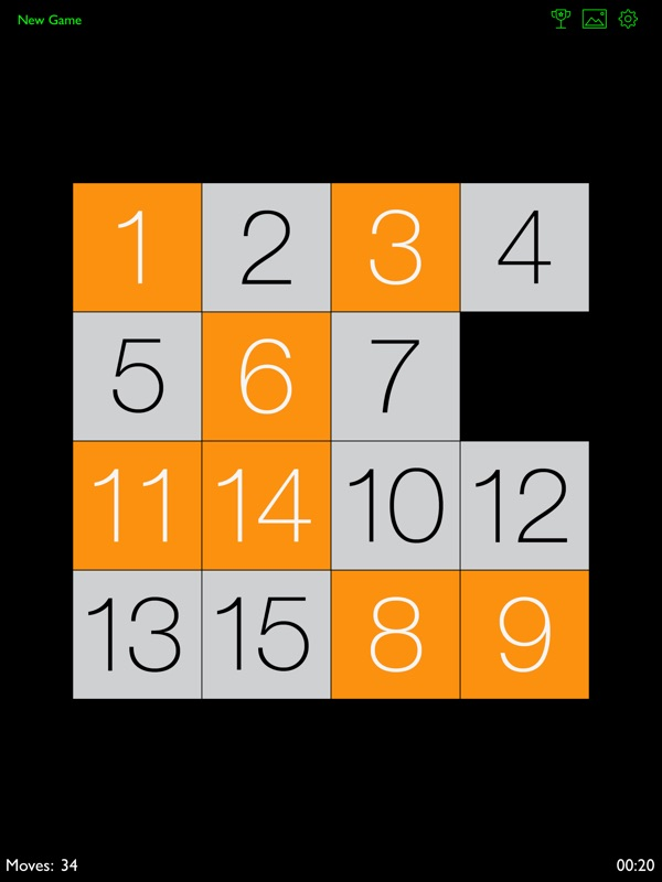 PuzzleTiles - 15 tile puzzle - Online Game Hack and Cheat