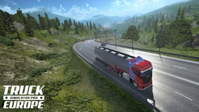 Truck Simulator PRO Europe screenshot 1