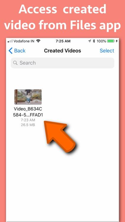 Video slow & fast speed Ramp screenshot-8