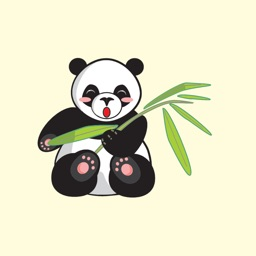 Cute Panda Bear Stickers